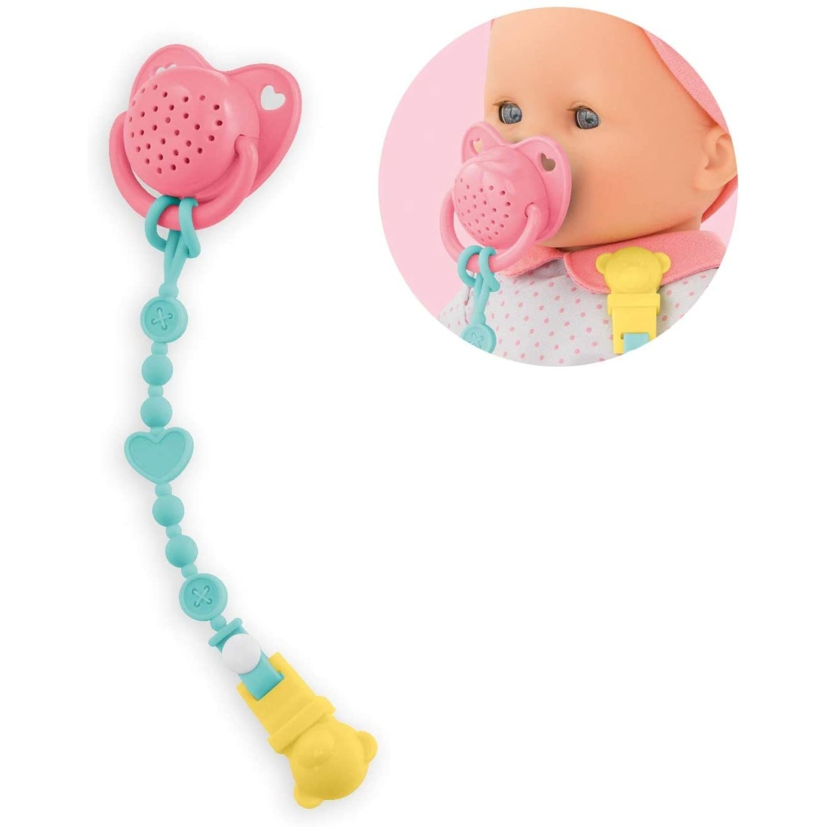 COROLLE PACIFIER WITH SOUNDS