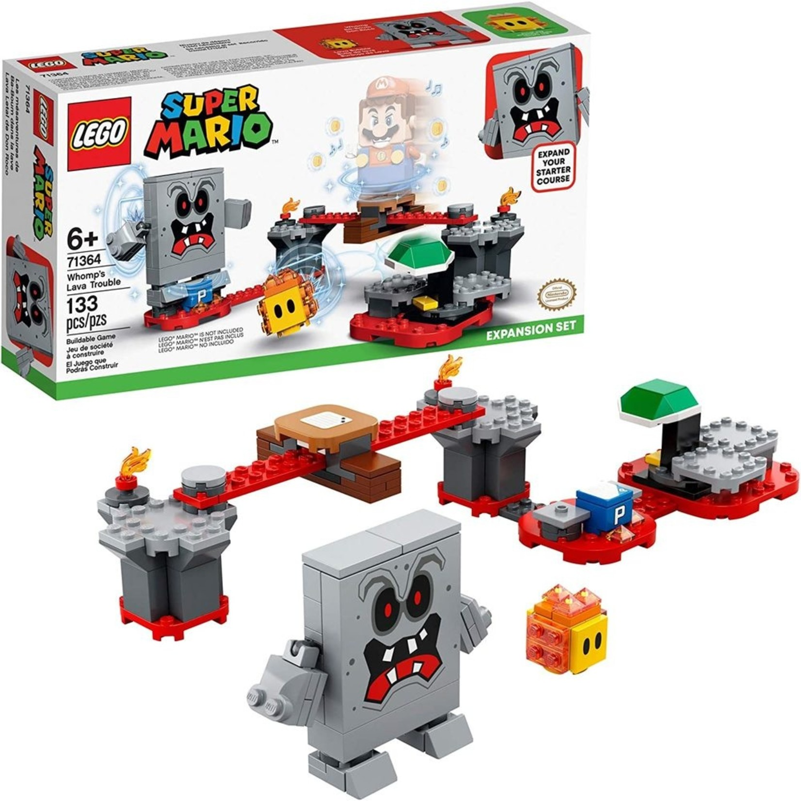 LEGO 71364 WHOMP'S LAVA TROUBLE EXPANSION SET