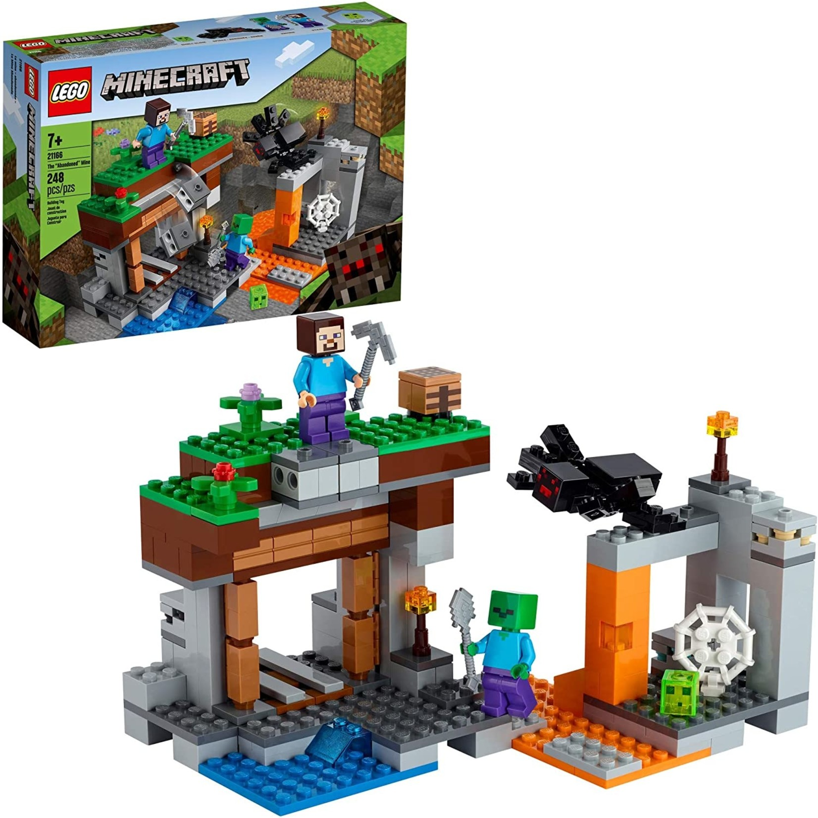LEGO 21166 MINECRAFT THE ABANDONED MINE