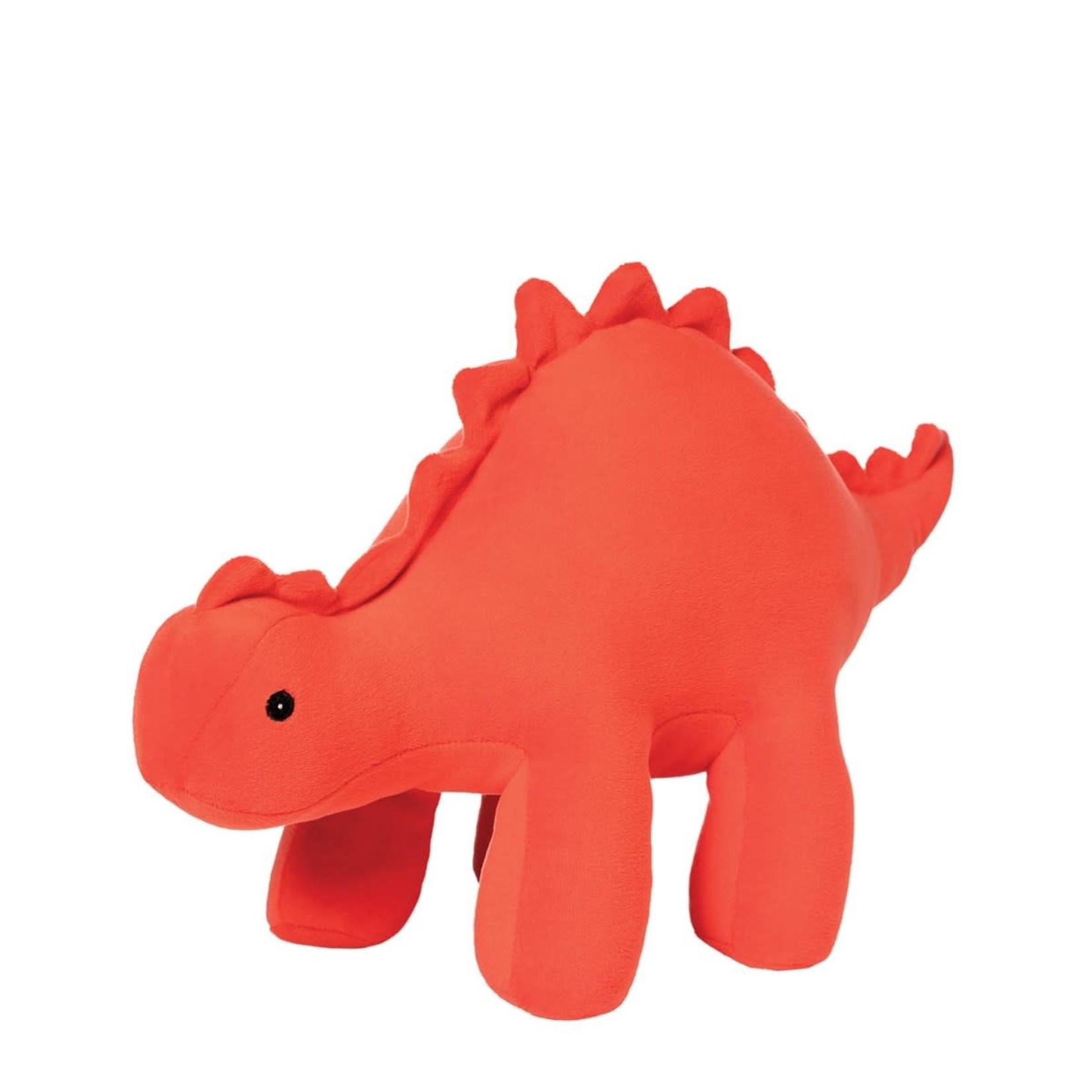 MANHATTAN TOY Velveteen Dino Gummy Stegosaurus