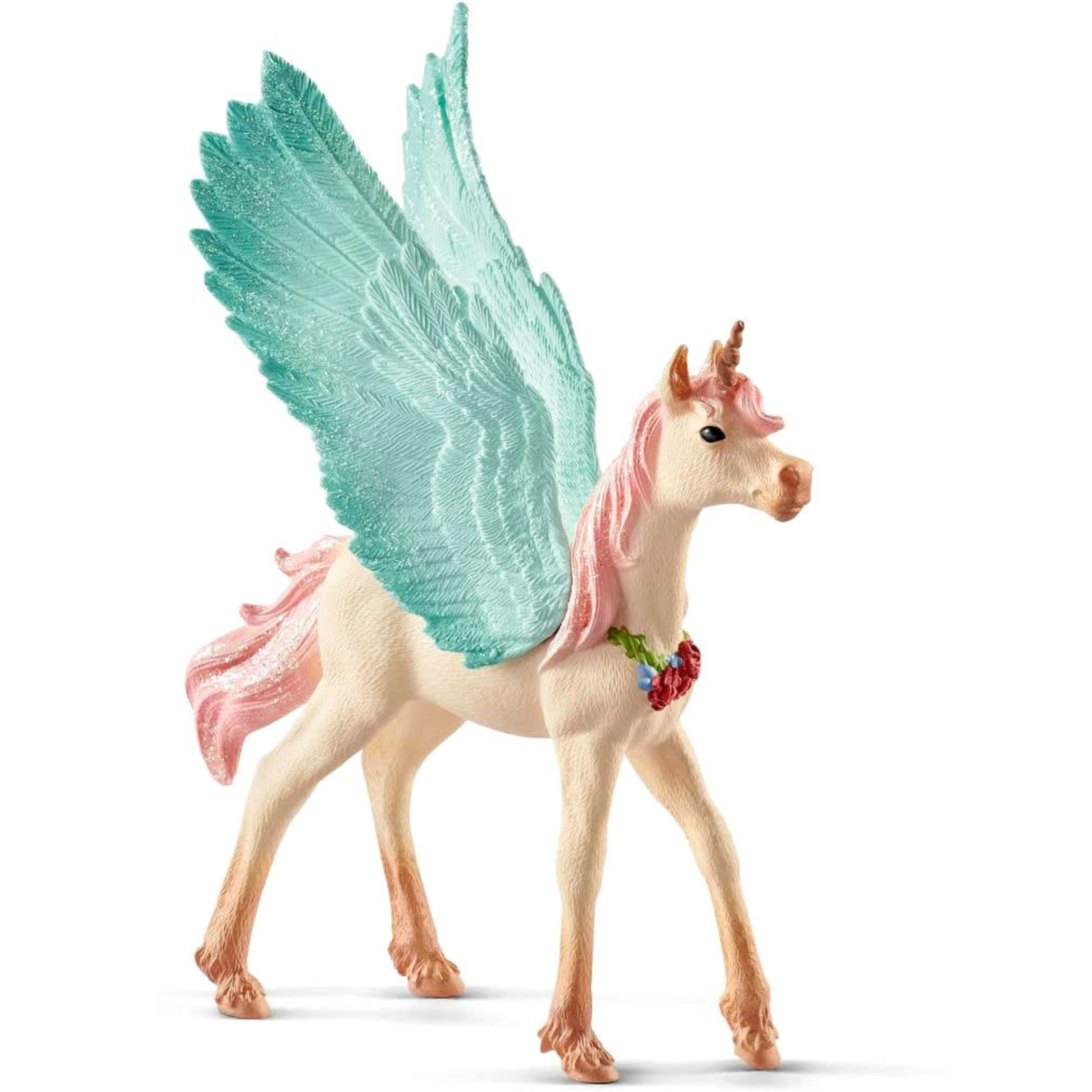 SCHLEICH DECORATED PEGASUS FOAL