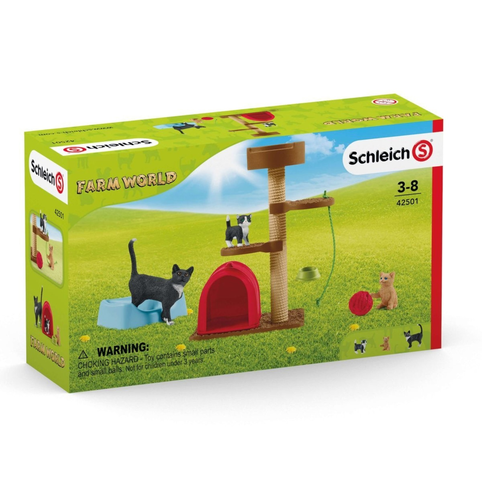SCHLEICH PLAYTIME FOR CATS