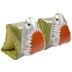 SUNNY LIFE BUDDY FLOAT BANDS SHARK ATTACK OLIVE
