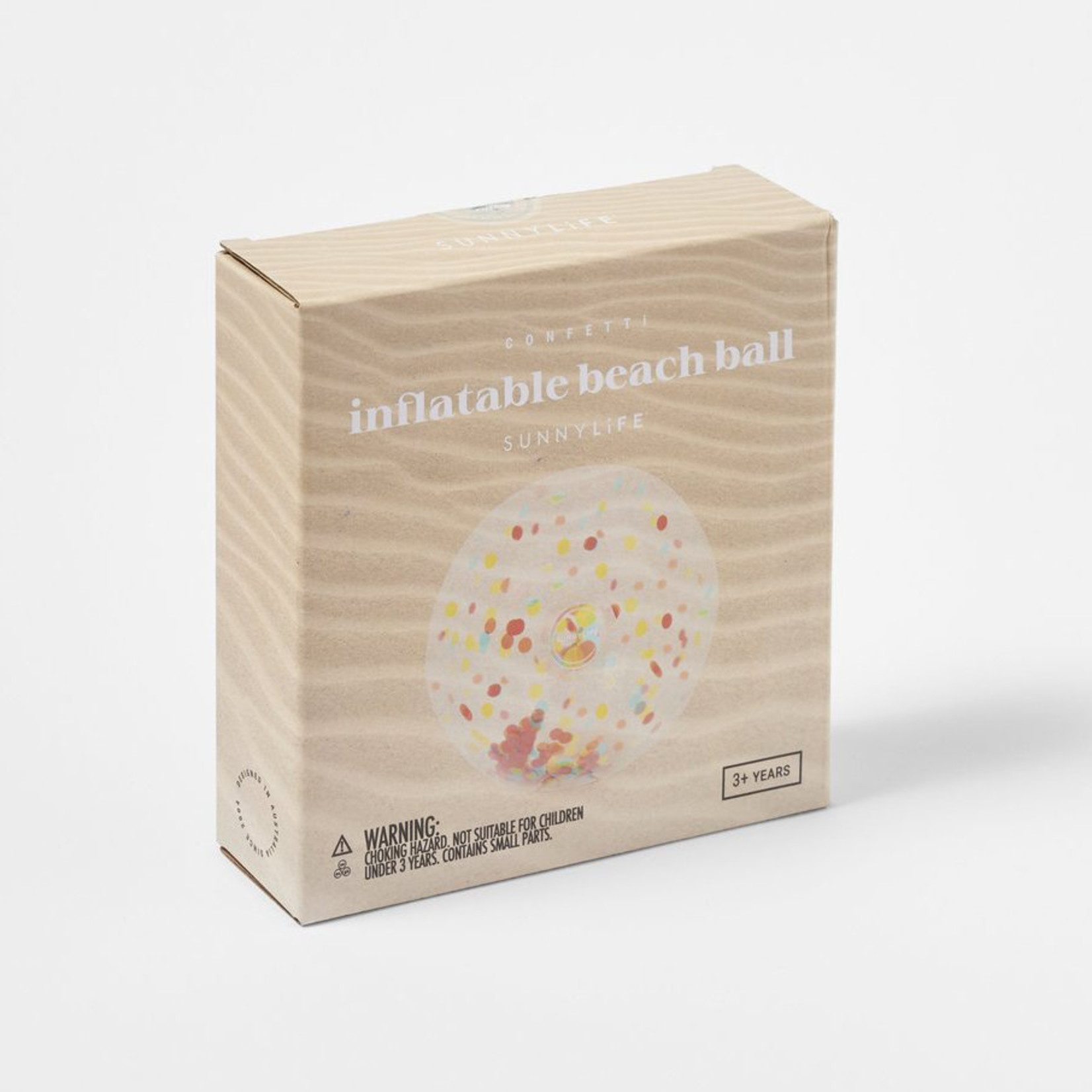 SUNNY LIFE INFLATABLE BEACH BALL CONFETTI