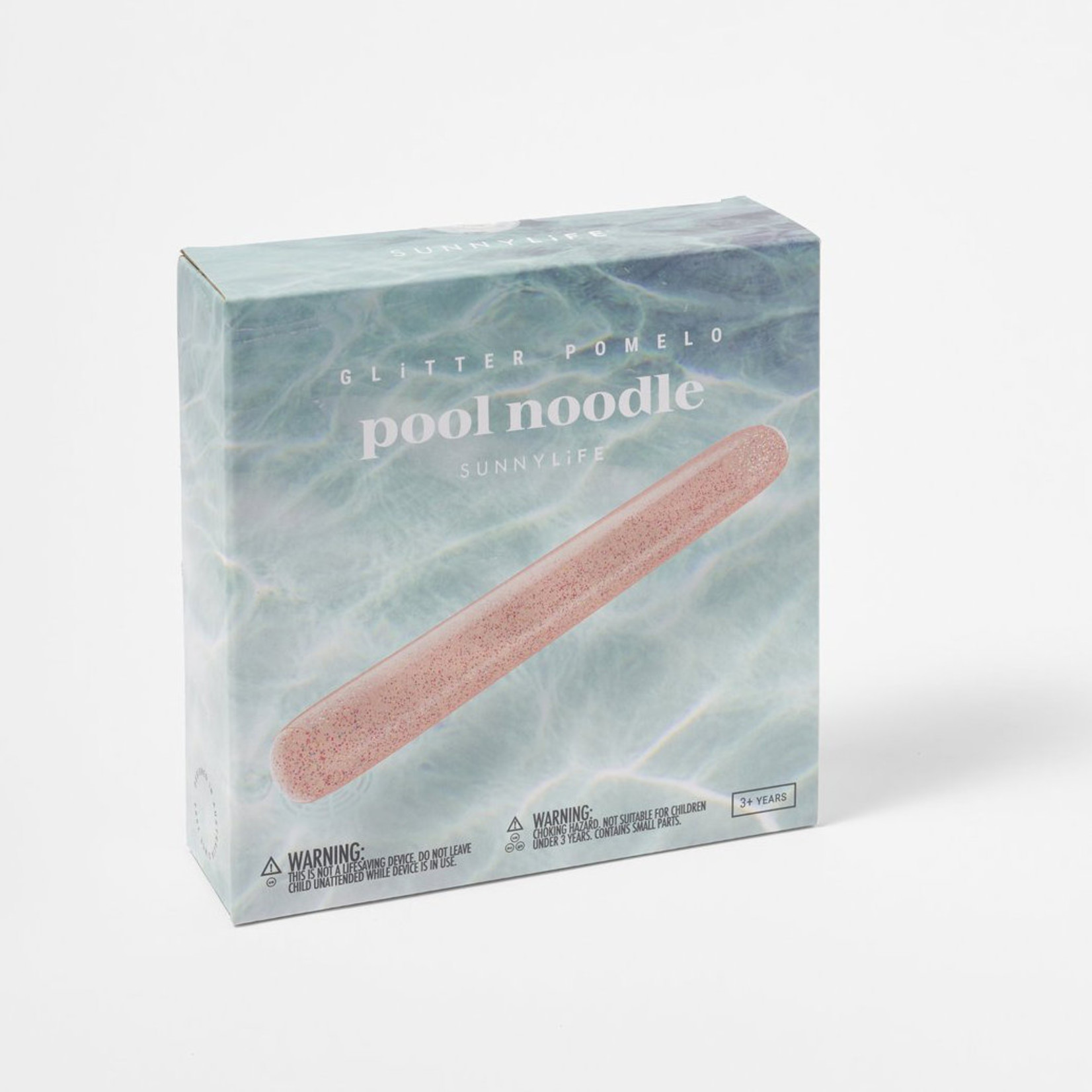 SUNNY LIFE POOL NOODLE GLITTER CORAL