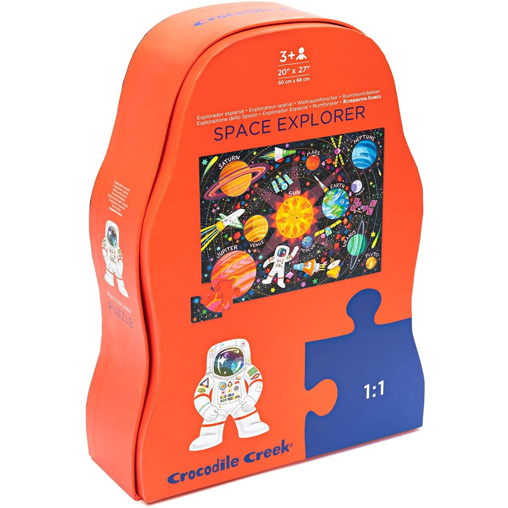 CROCODILE CREEK SPACE EXPLORER PUZZLE