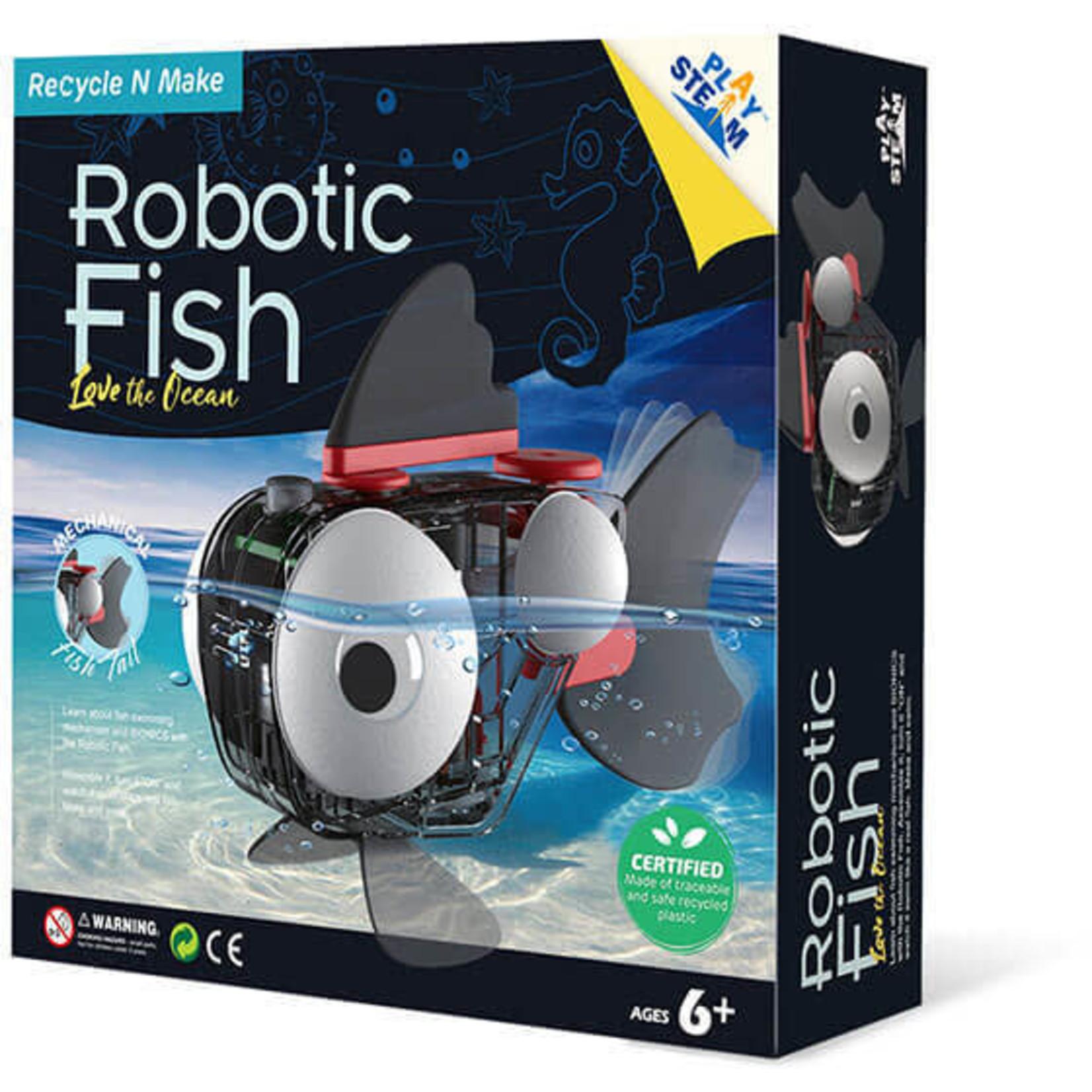 PLAY STEAM ROBOTIC FISH