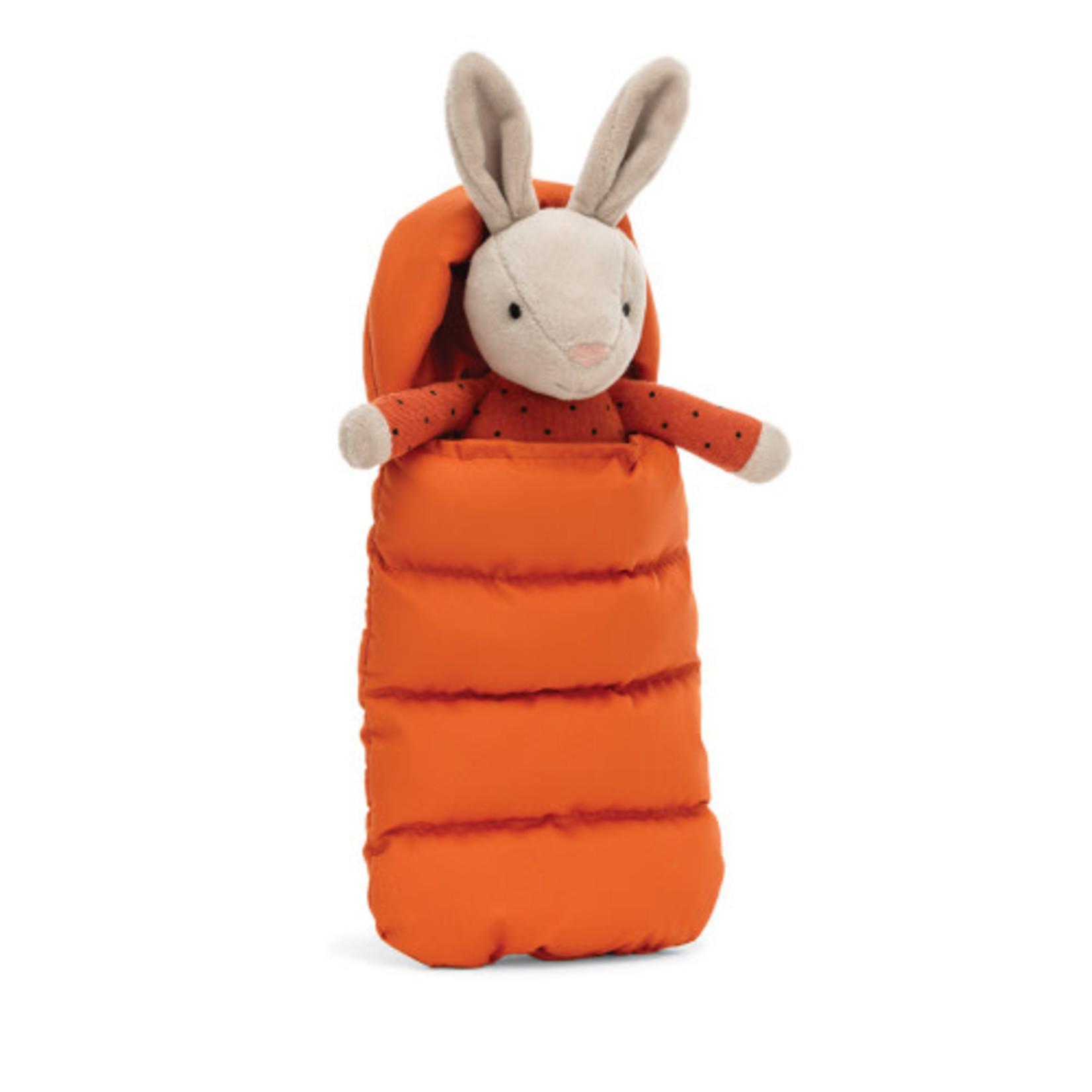 JELLYCAT Sleeping Bag Snuggler Bunny