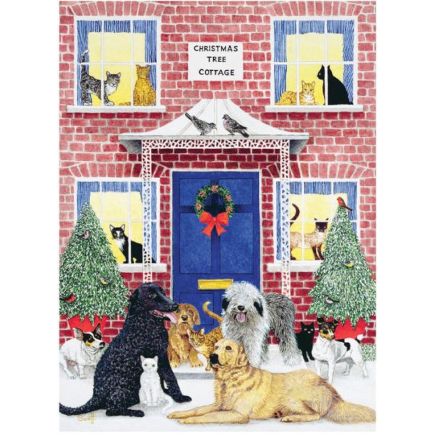 CHRONICLE CHRISTMAS COTTAGE PUZZLE
