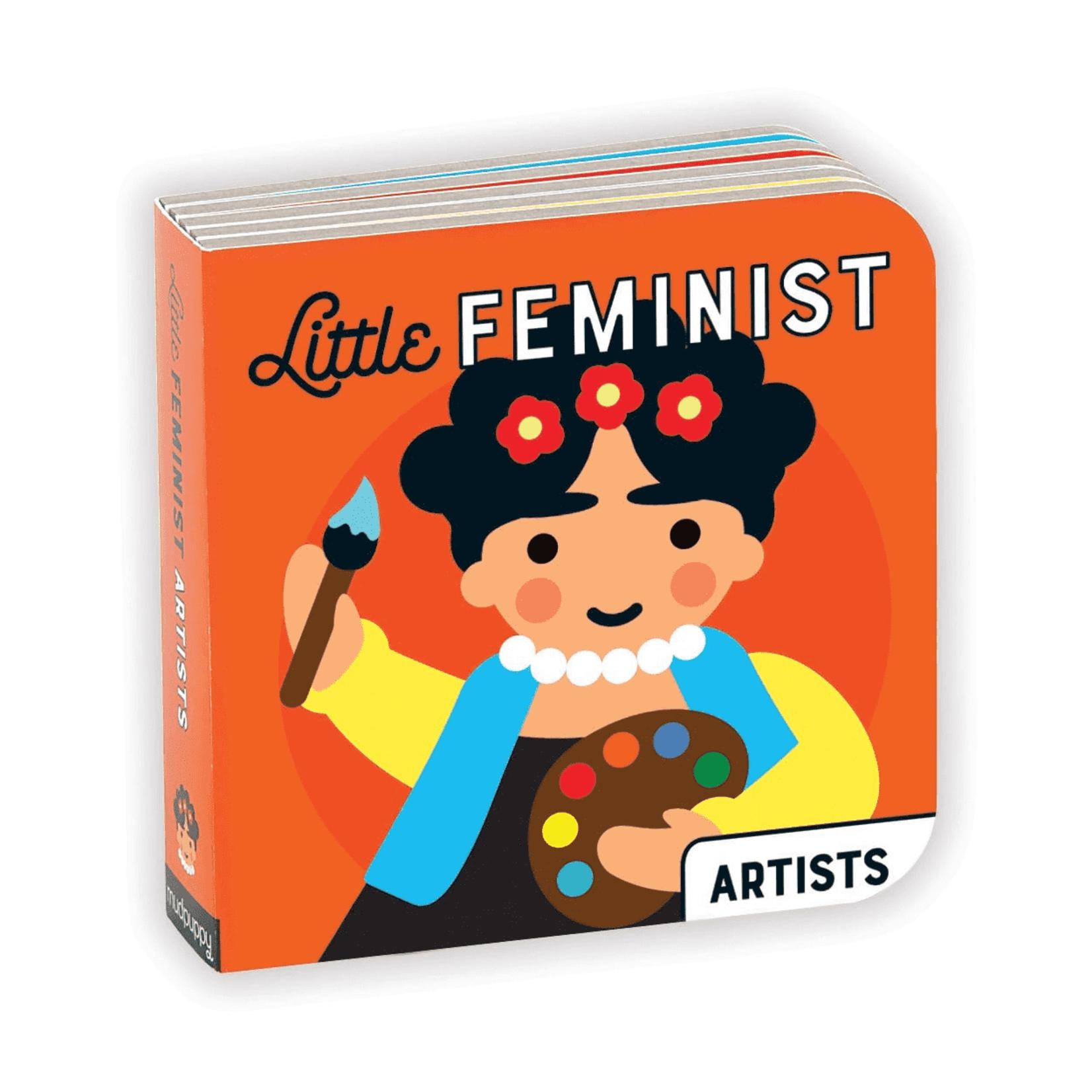 MUDPUPPY LITTLE FEMINISTS BOARD BOOK SET