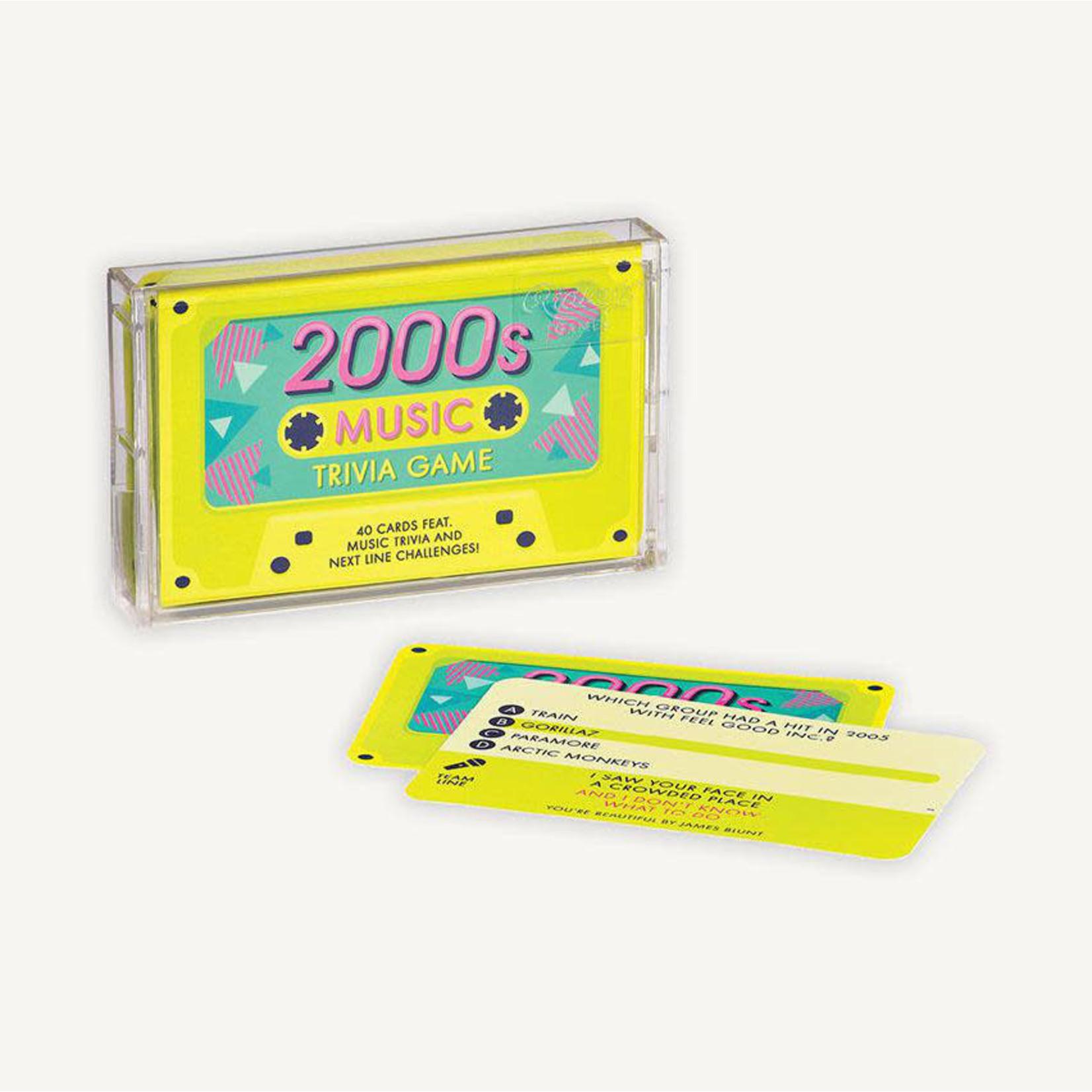 CHRONICLE 2000s MUSIC TRIVIA GAME