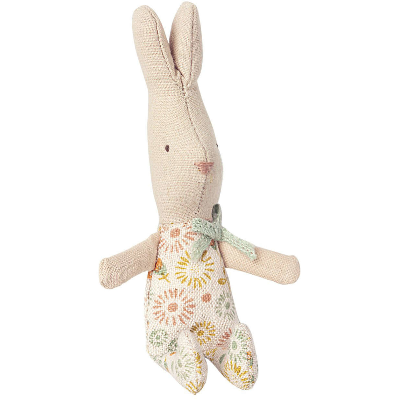 MAILEG My rabbit in dusty green carry cot