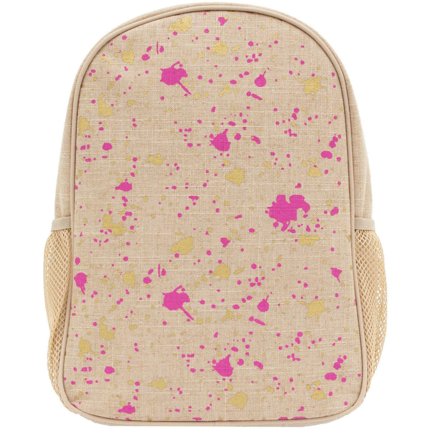 SOYOUNG FUSCHIA AND GOLD BACKPACK