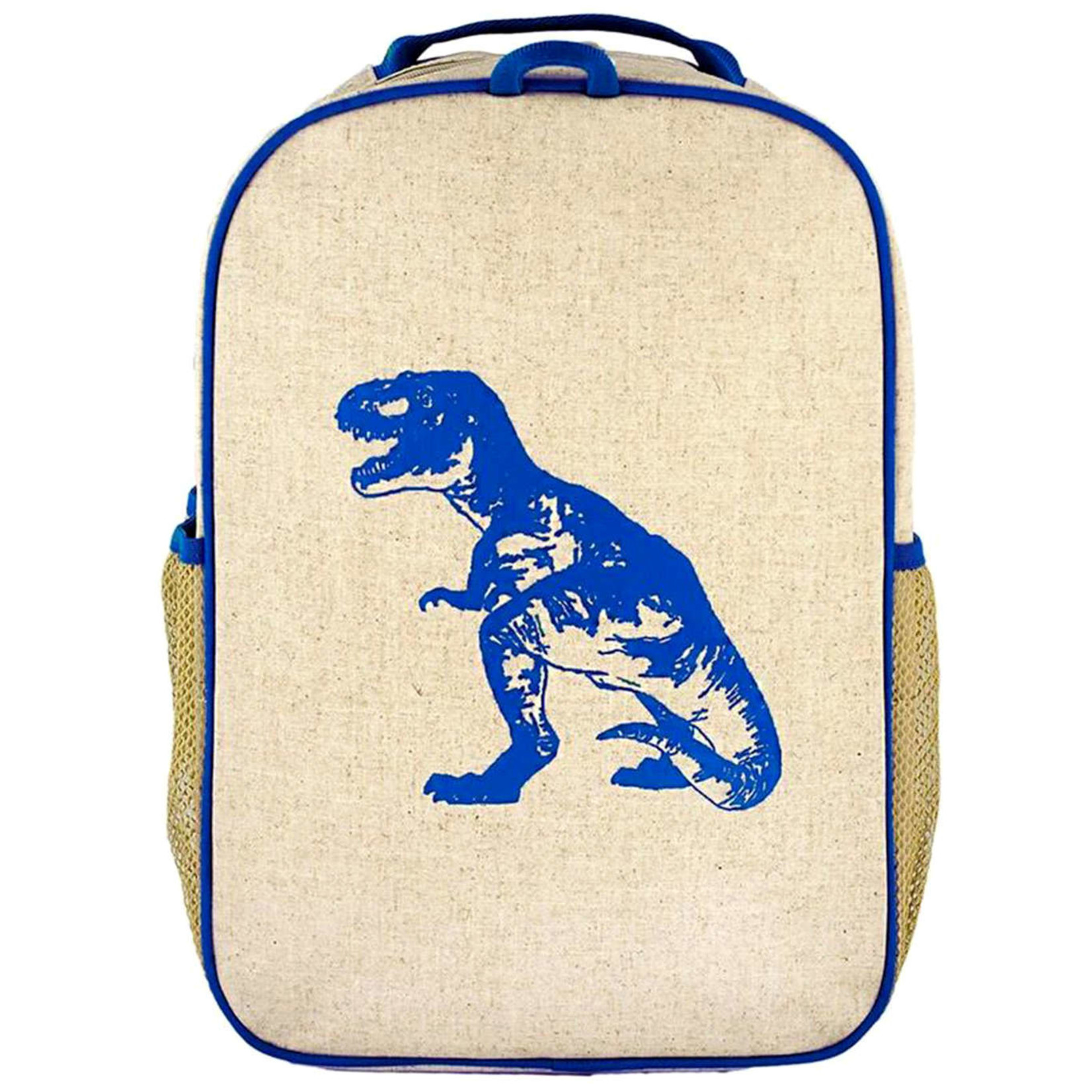 SOYOUNG BLUE DINO GRADE SCHOOL BACKPACK