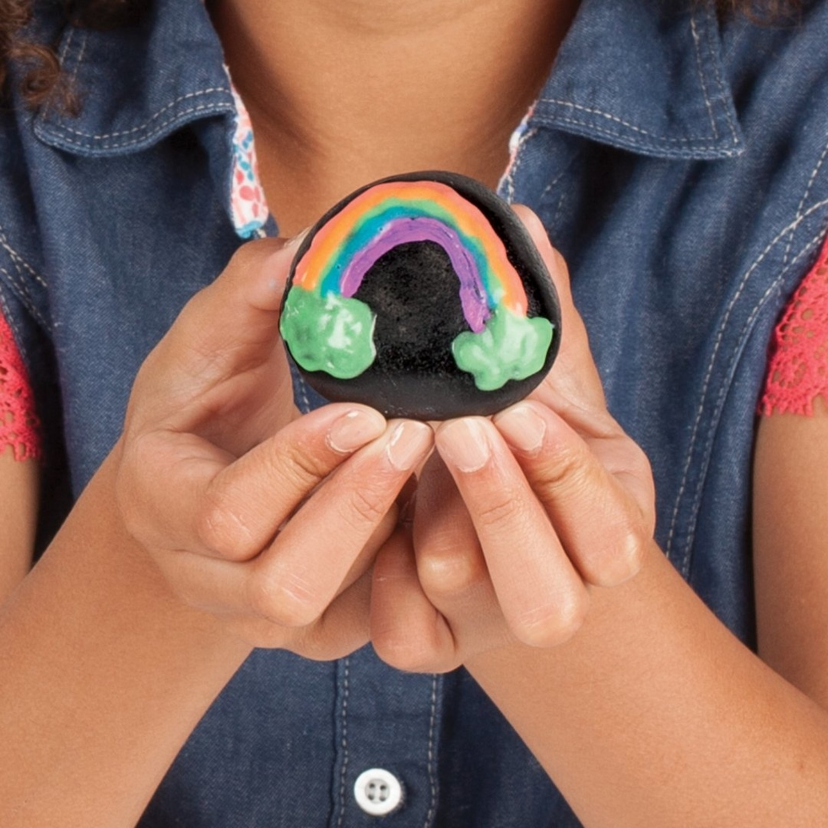 CREATIVITY FOR KIDS ROCK PAINTING GLOW IN THE DARK