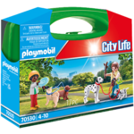 PLAYMOBIL PUPPY PLAYTIME CARRY CASE
