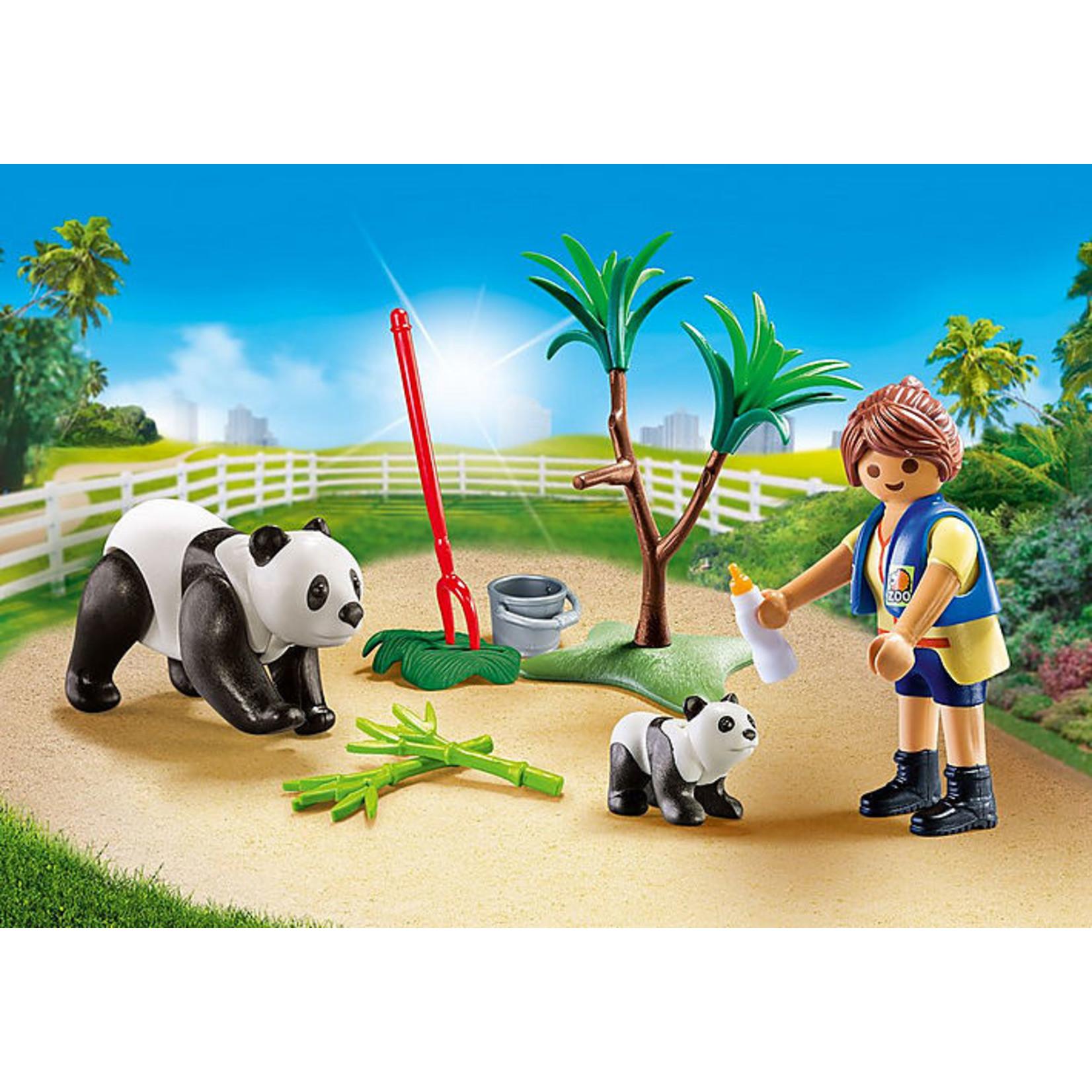 PLAYMOBIL PANDA CARETAKER