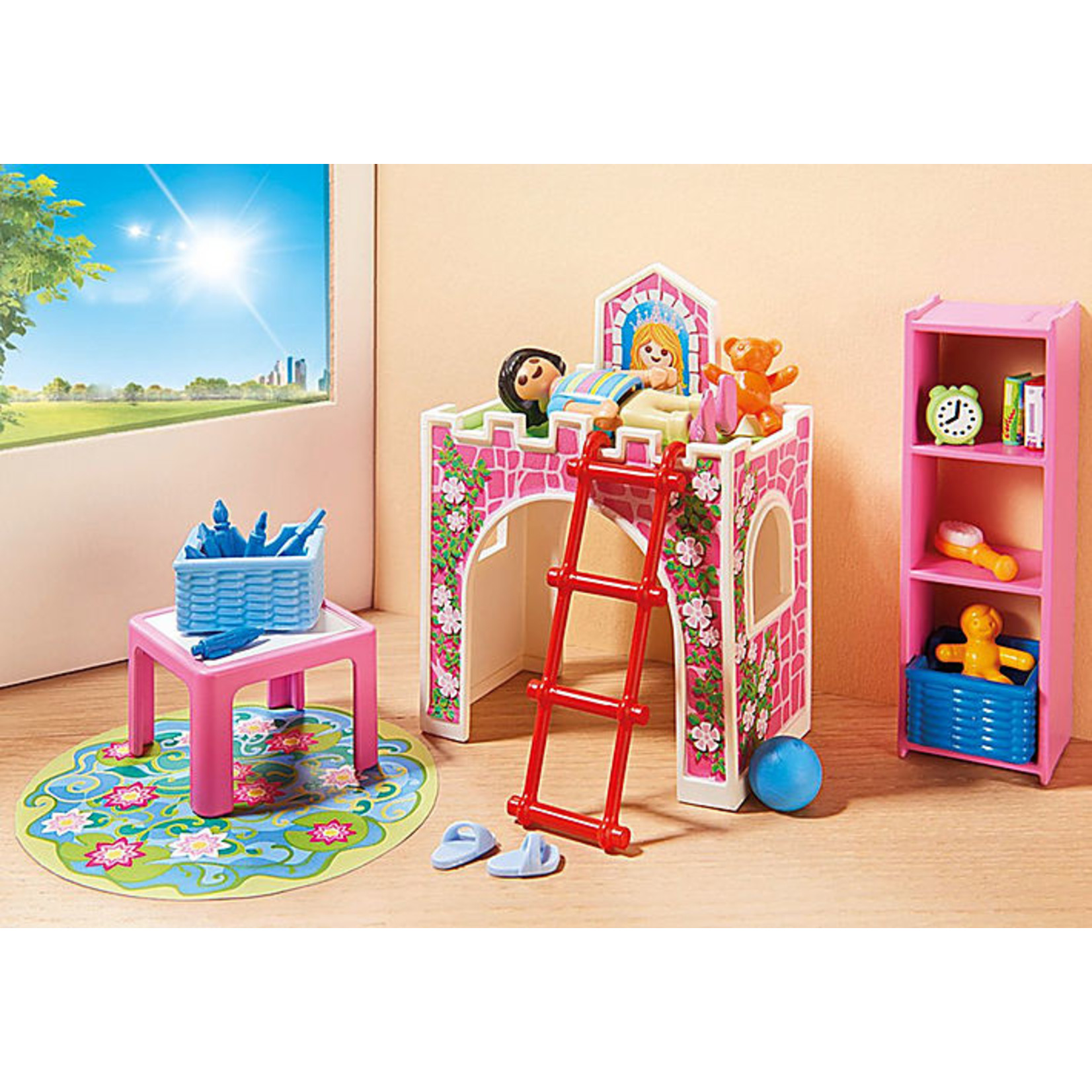PLAYMOBIL CHILDRENS ROOM
