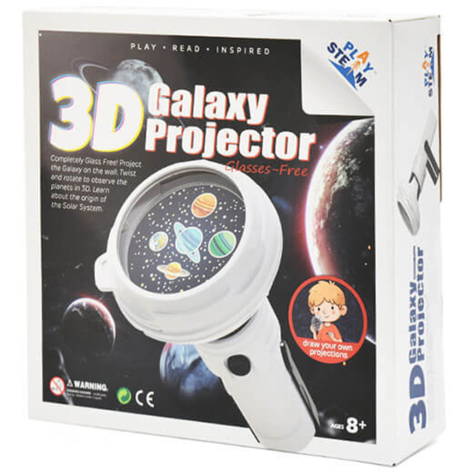 PLAY STEAM 3D GALAXY PROJECTOR