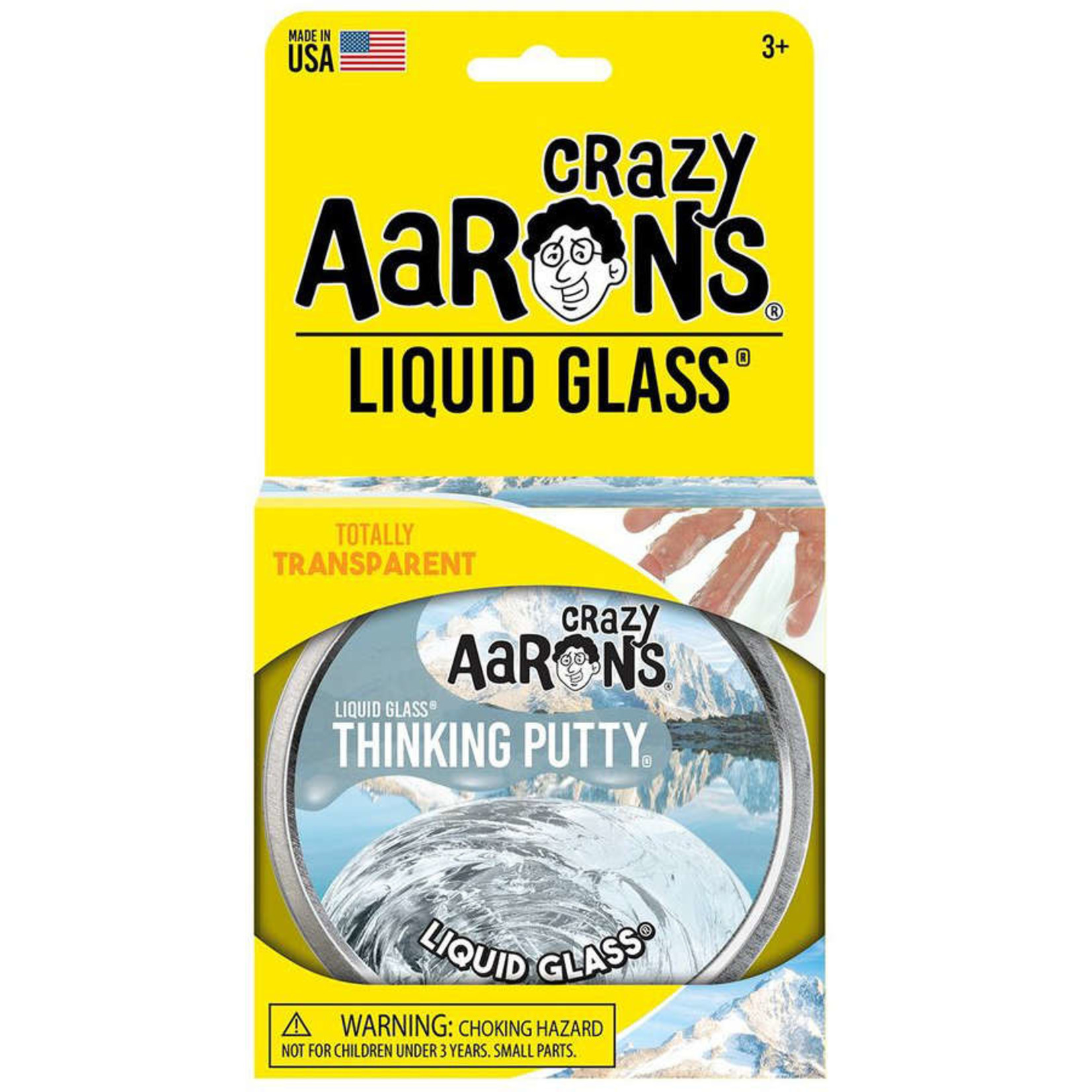 CRAZY AARON'S LIQUID GLASS PUTTY CLEAR