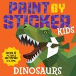 WORKMAN PUBLISHING PAINT BY STICKER KIDS DINOSAURS
