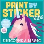 WORKMAN PUBLISHING PAINT BY STICKER KIDS UNICORNS