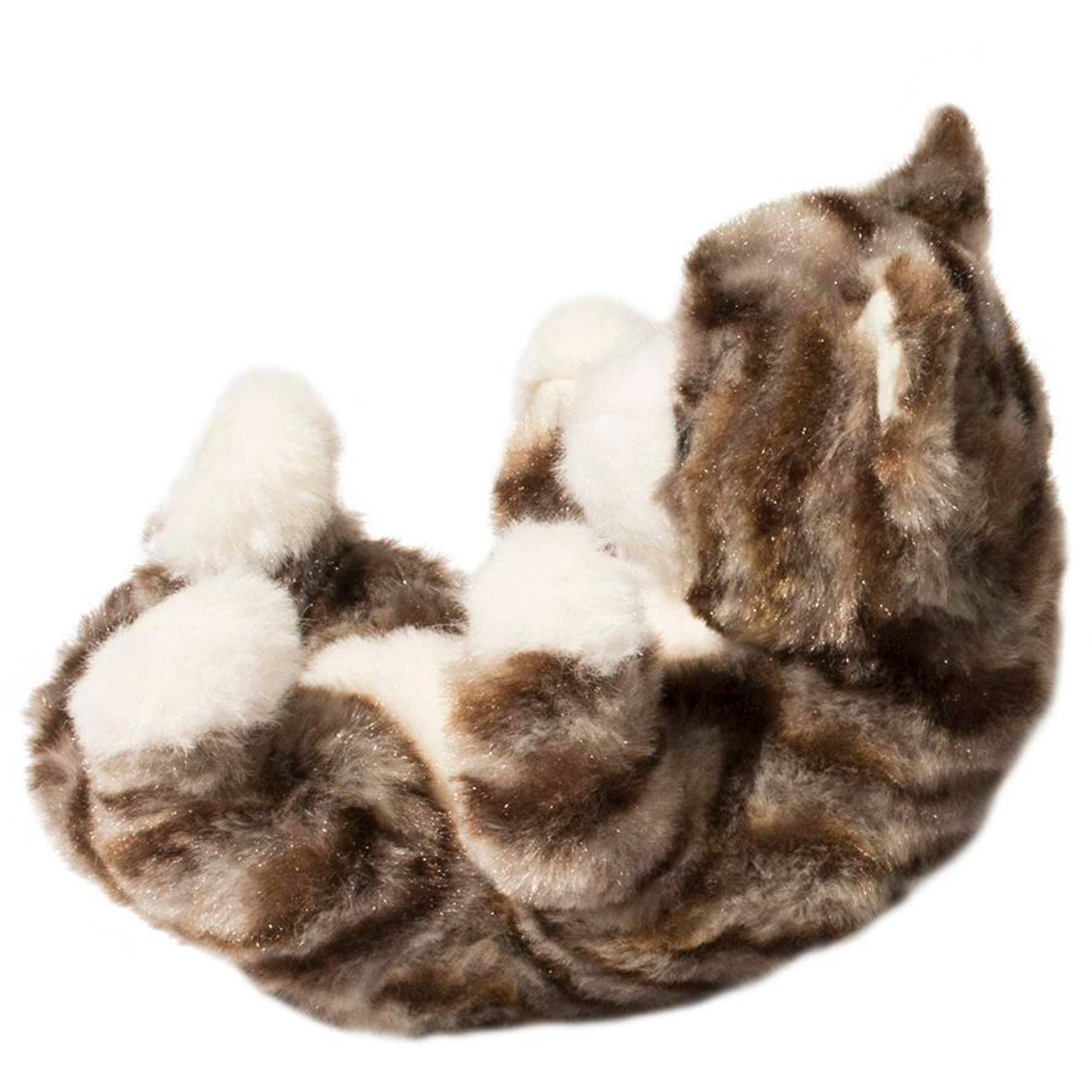 DOUGLAS GRAY STRIPE CAT LIL HANDFUL
