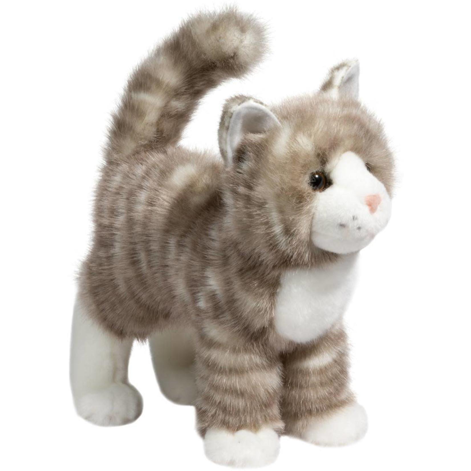 DOUGLAS ZIPPER GRAY TABBY CAT
