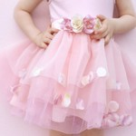 GREAT PRETENDERS Golden Rose Petal Skirt