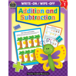 TEACHER CREATED RESOURCES WRITE-ON/WIPE-OFF ADDITION AND SUSTRACTION