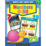 TEACHER CREATED RESOURCES WRITE-ON/WIPE-OFF NUMBERS 0-30