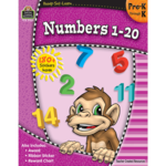 TEACHER CREATED RESOURCES READY-TO-LEARN: NUMBERS 1-20 PREK-K
