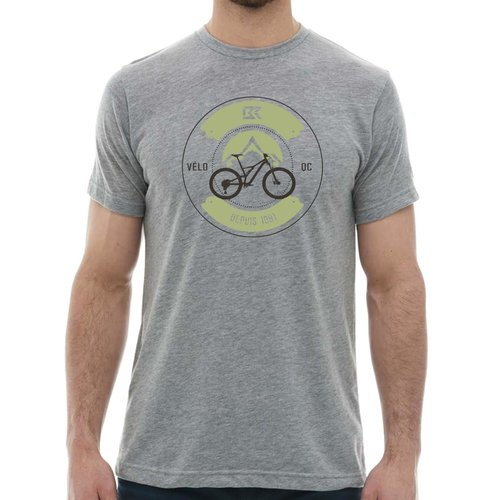 T-Shirt Bicycles Record montagne