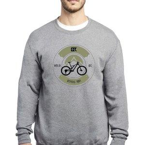 Chandail à col rond montagne Bicycles Record - gris