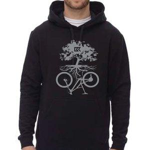 Chandail à capuchon Symbiose Bicycles Record - noir