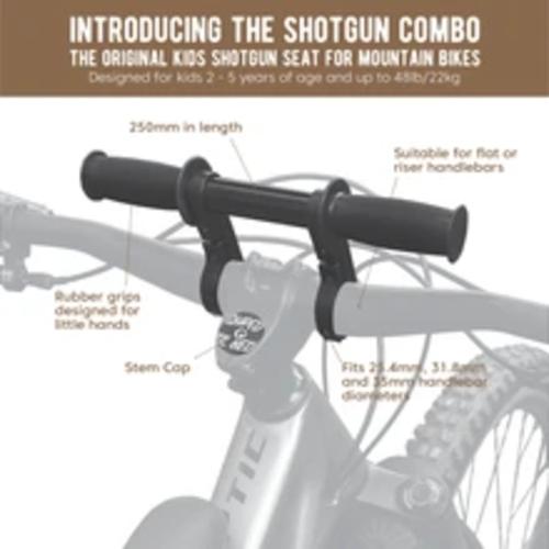 Shotgun Boite Combo Siège enfant + Guidon Bébé sur cadre