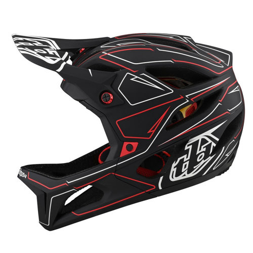 Troy Lee Designs Casque Stage Pinstripe MIPS