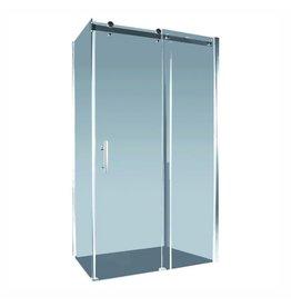 Alpine 1200mm Aspen Shower Screen Sliding Door Section 120cm, (Adjustment 1165-1185mm) Return Panel Not Included