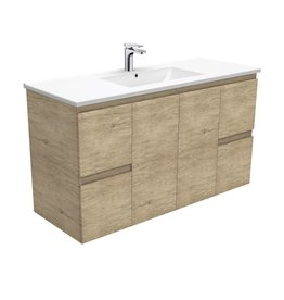 FIENZA 1200mm, FIENZA, DOLCE EDGE Scandi Oak Wall-Hung Vanity