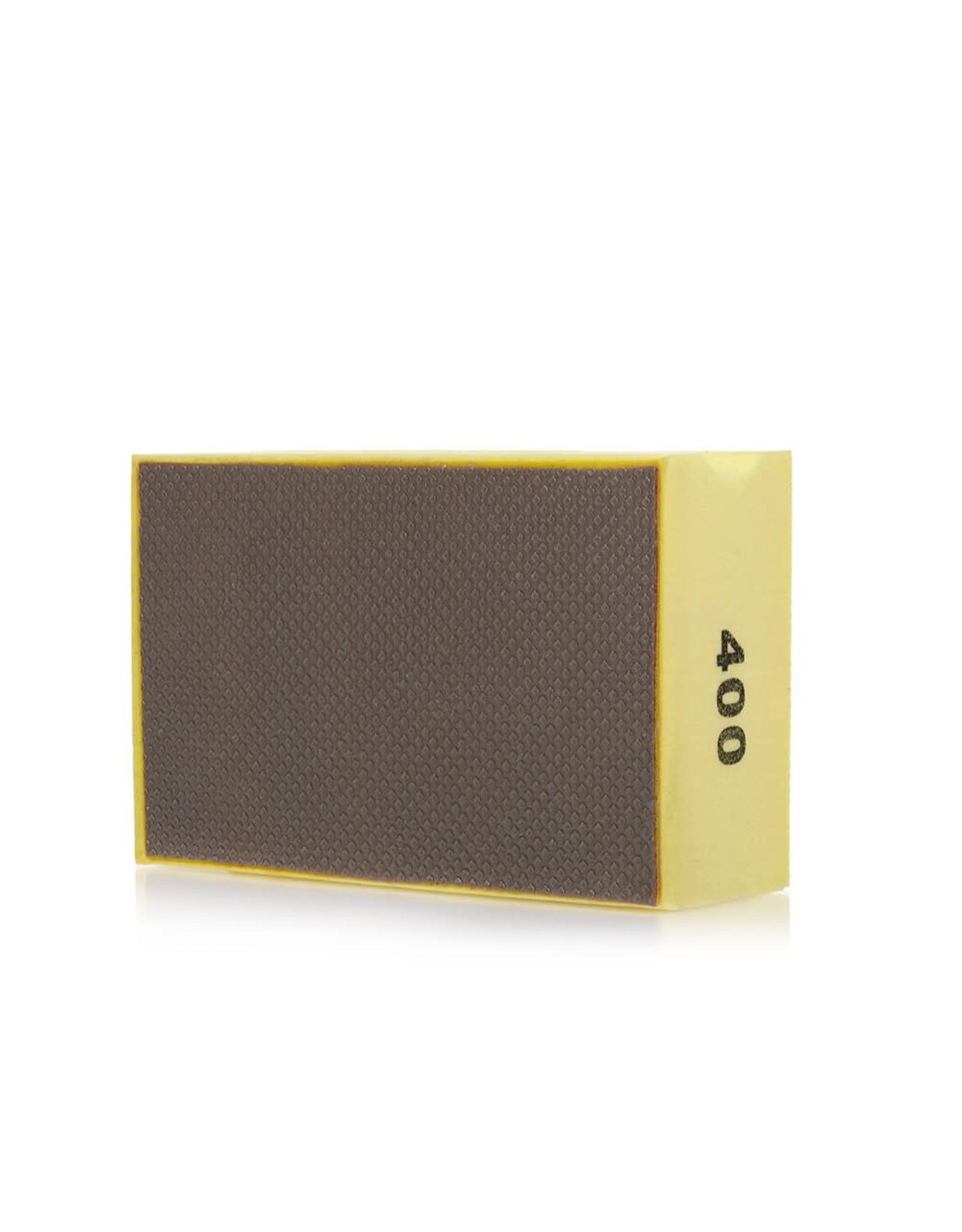 CDK Stone 90x55mm DIAFLEX Yellow 400 Grit Hand Pad