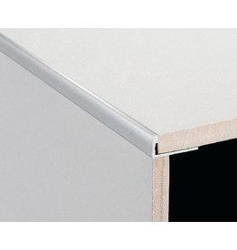 DTA 8mm DTA Aluminium L-Shape Trim Brushed Silver
