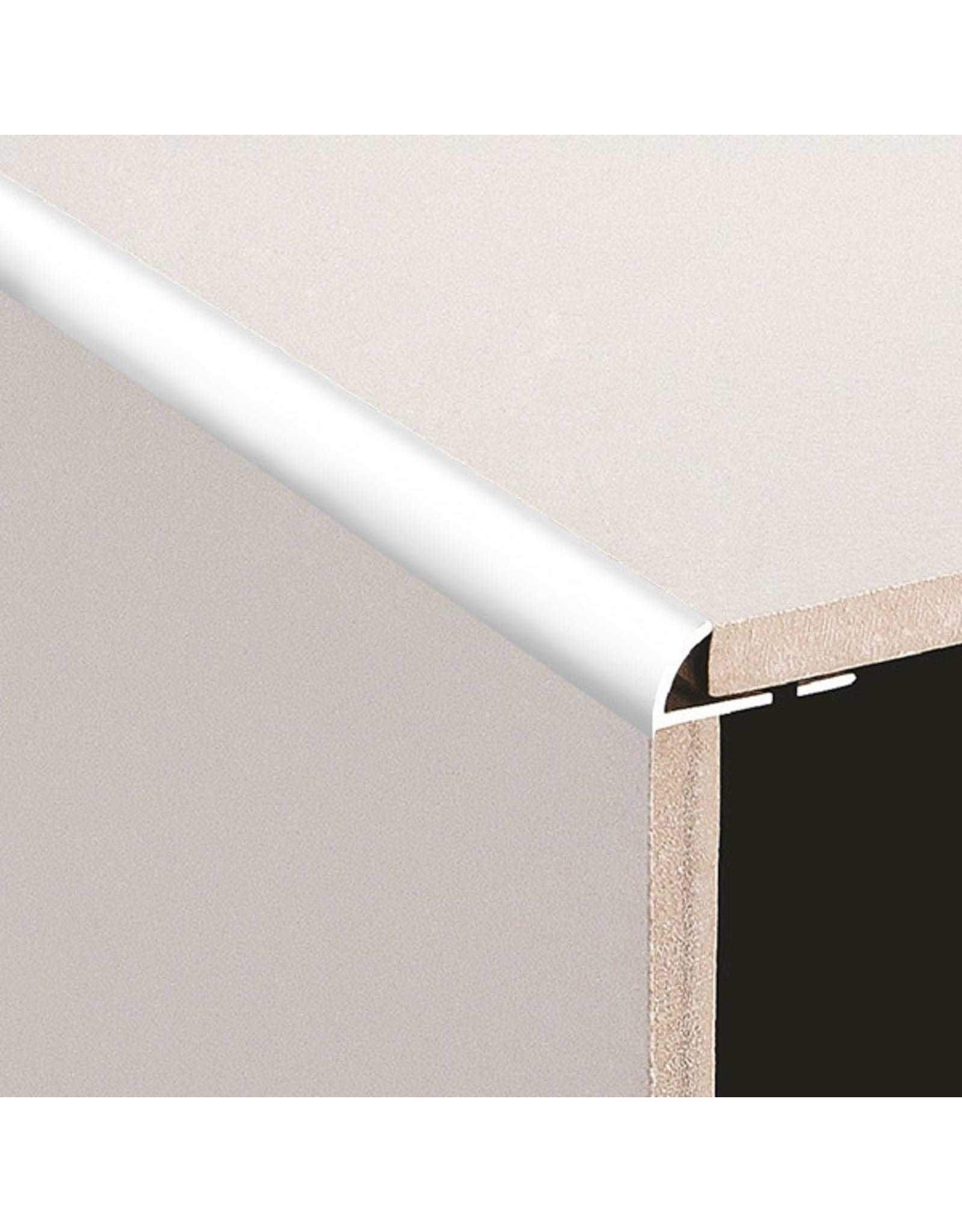 DTA 8mm DTA Aluminium Round Edge Trim Bright Silver