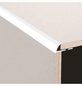 DTA 8mm DTA Aluminium Round Edge Trim Gloss White