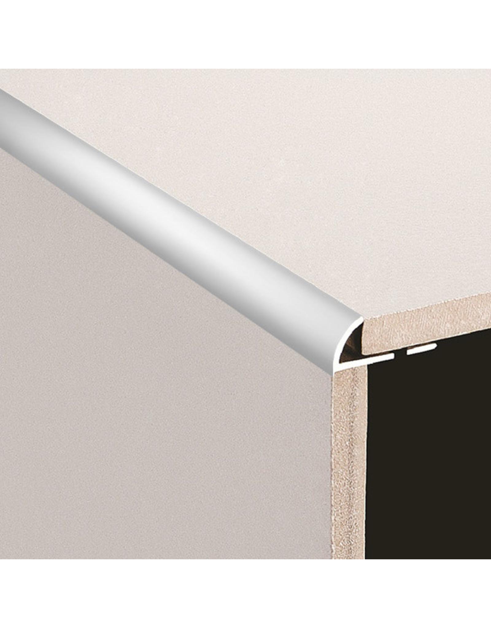 DTA 12mm DTA Aluminium Round Edge Trim Matt Silver