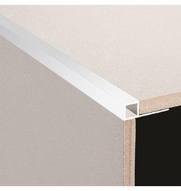 DTA 6mm DTA Aluminium Square Edge Trim Bright Silver