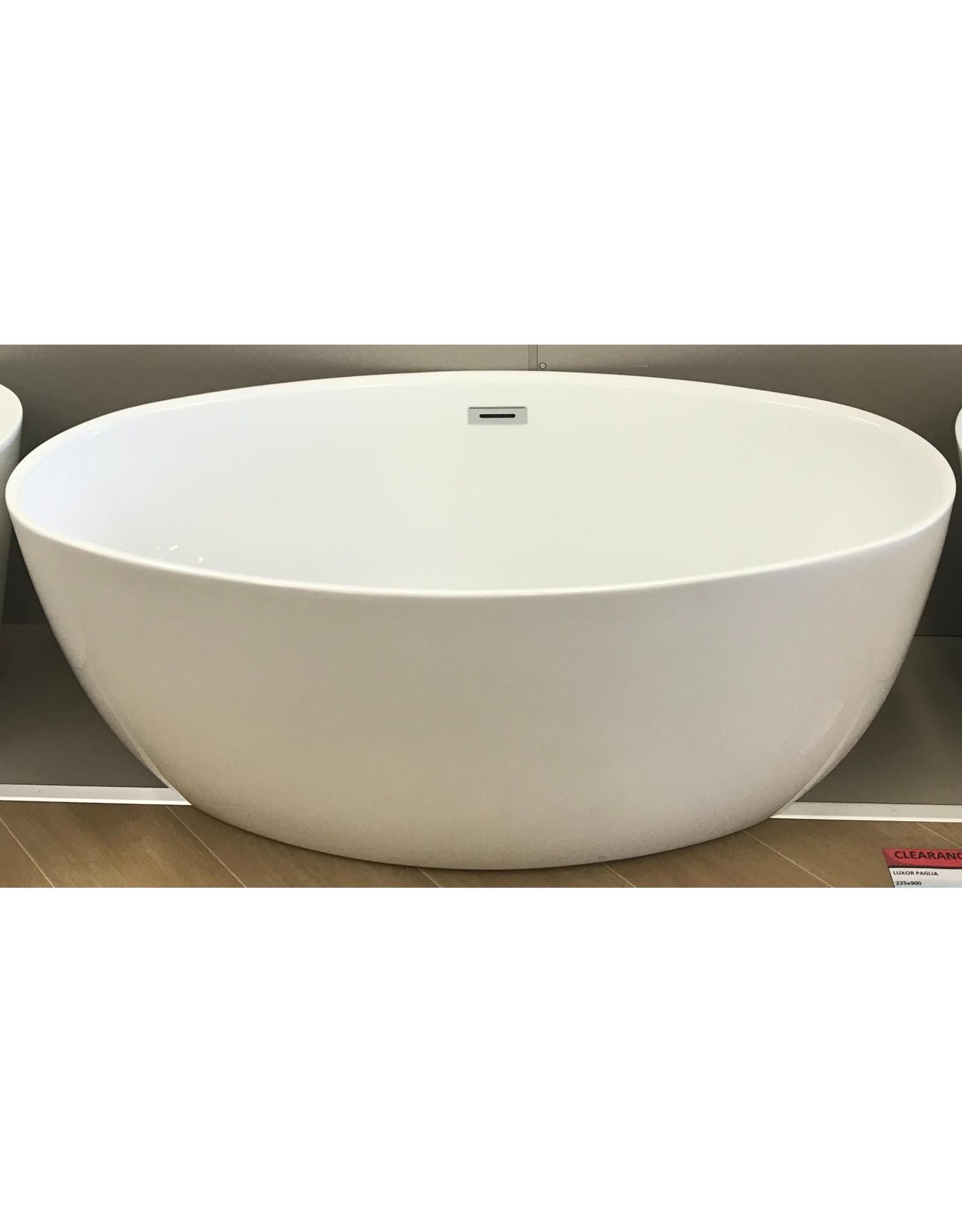 CLEARANCE CENTRE CLEARANCE - 1500mm, Nardo Oval BathTub