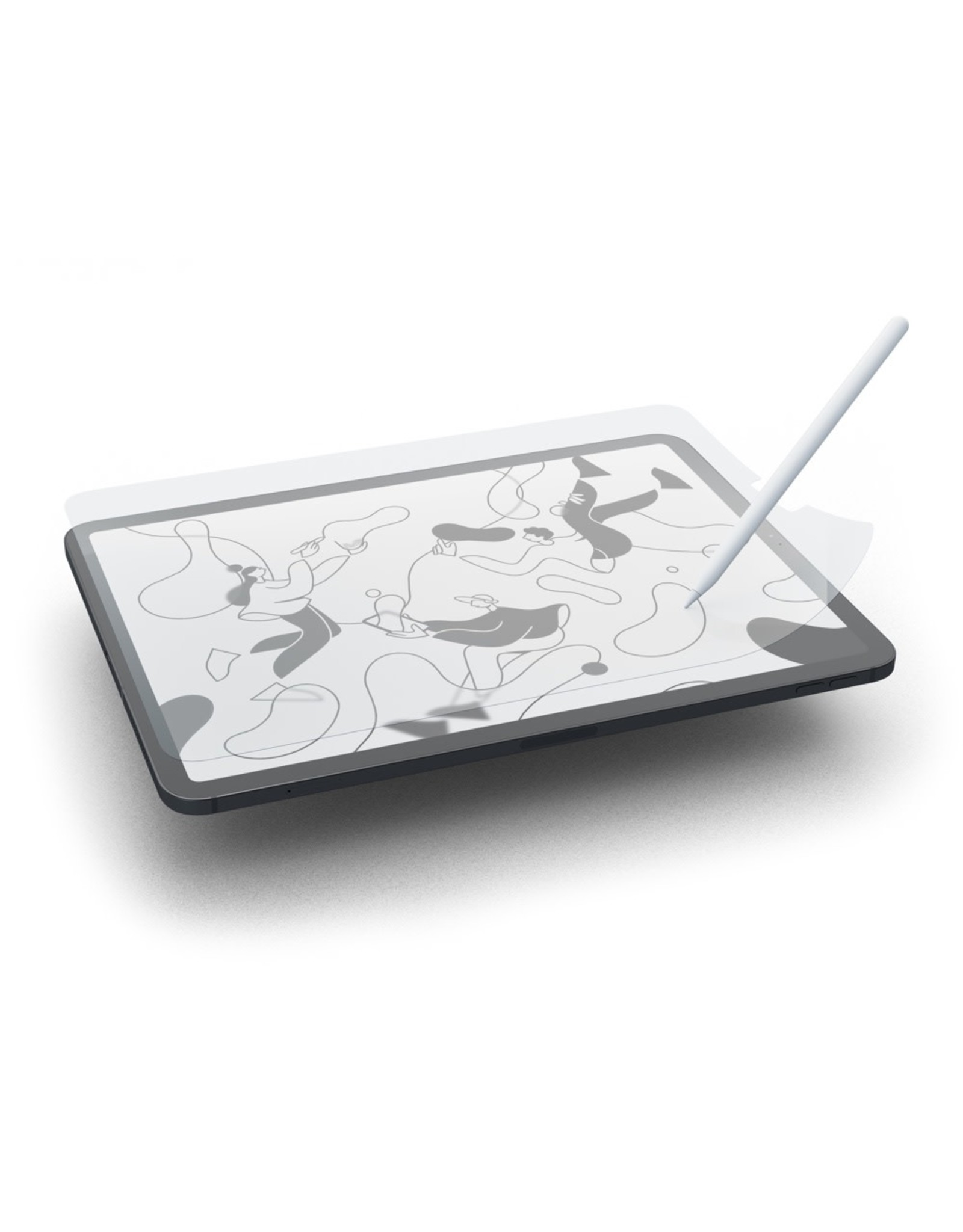 """Paperlike Paperlike Screen Protector iPad 10.2"""" (2019) for Writing & Drawing (x2 pack)"""