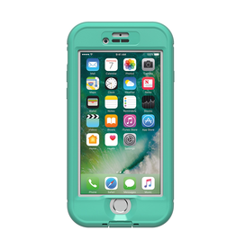 Lifeproof LifeProof Nuud Case suits iPhone 7 - Soft Mint/Taliside Teal/Clear