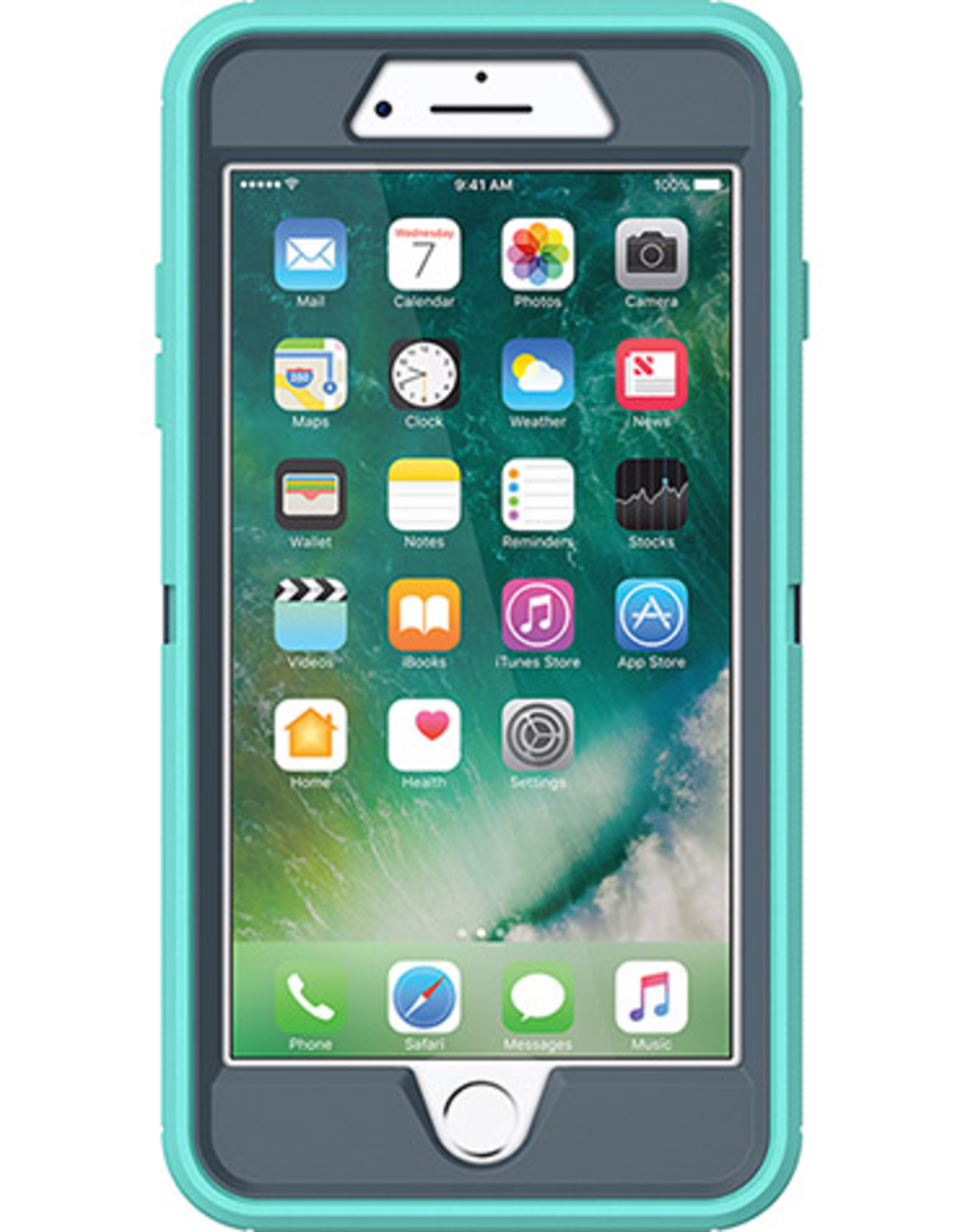 Otterbox OtterBox Defender Case suits iPhone 7 Plus/8 plus - Tempest Blue/Mint