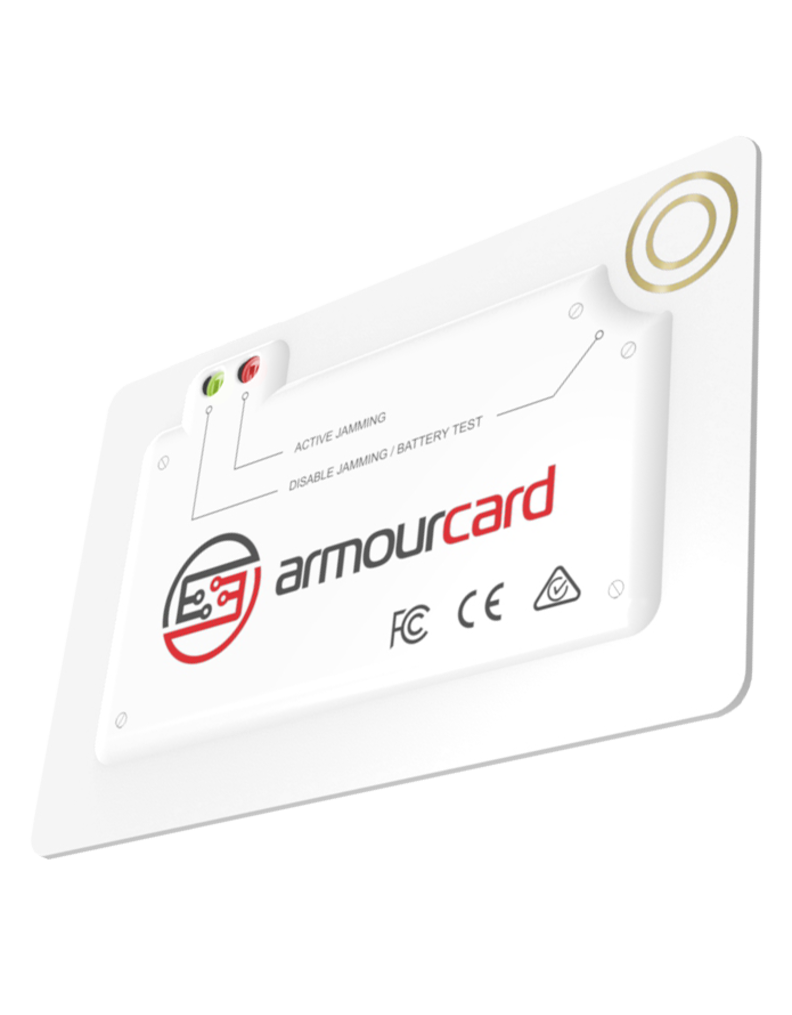 Armourcard Armourcard White - Powered active RFID credit card jamming